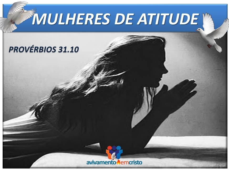MULHERES DE ATITUDE