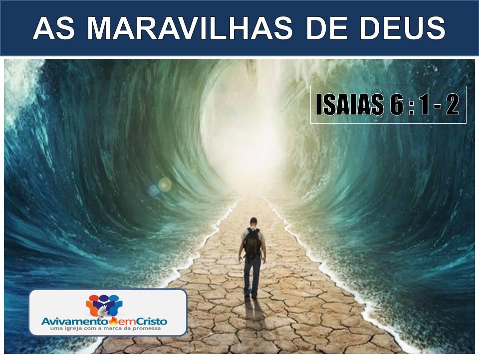 AS MARAVILHAS DE DEUS 02 05 2017